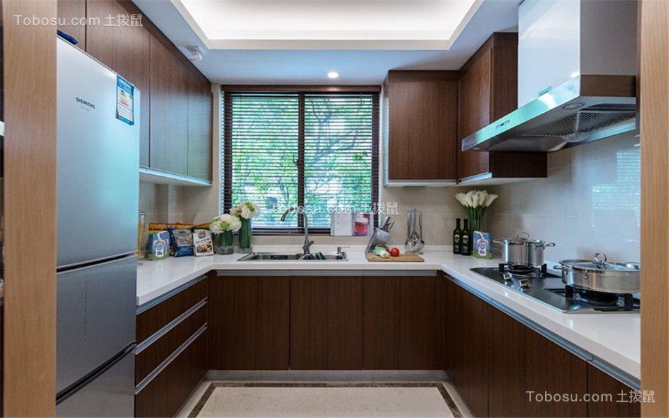 2021欧式厨房装修图 2021欧式橱柜装修效果图片