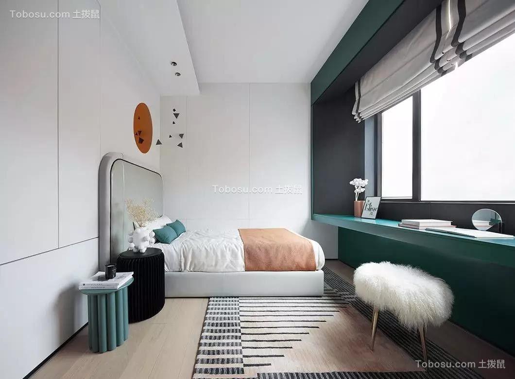 2019现代简约卧室装修设计图片 2019现代简约窗台装修设计图片