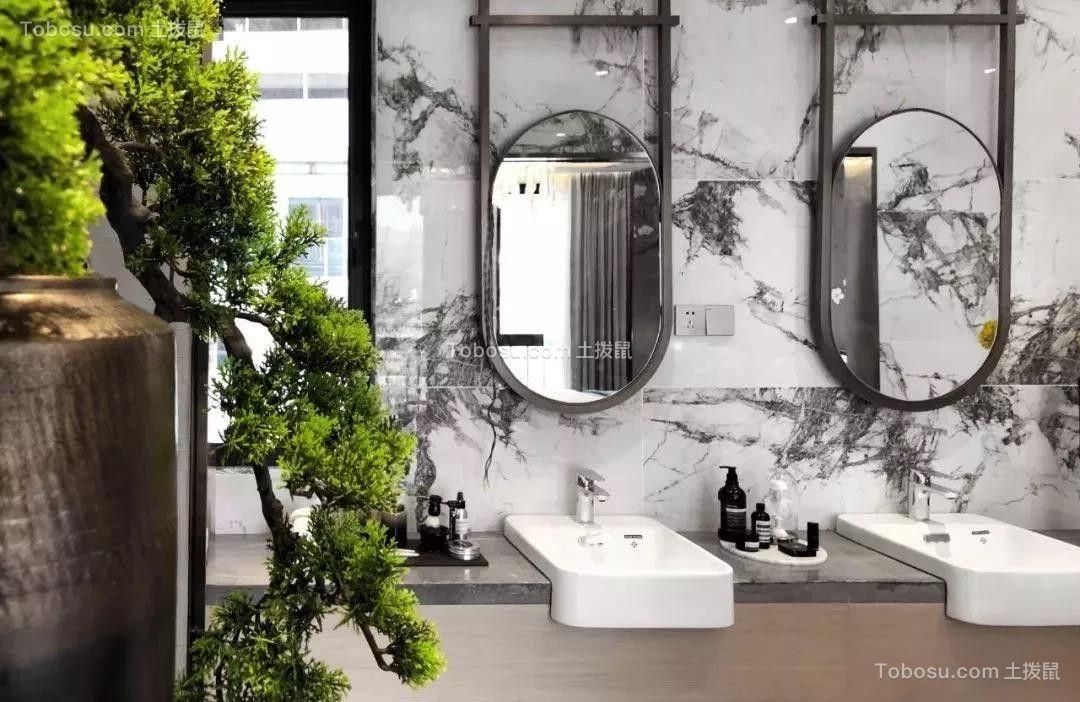 2020新中式卫生间装修图片 2020新中式洗漱台装饰设计