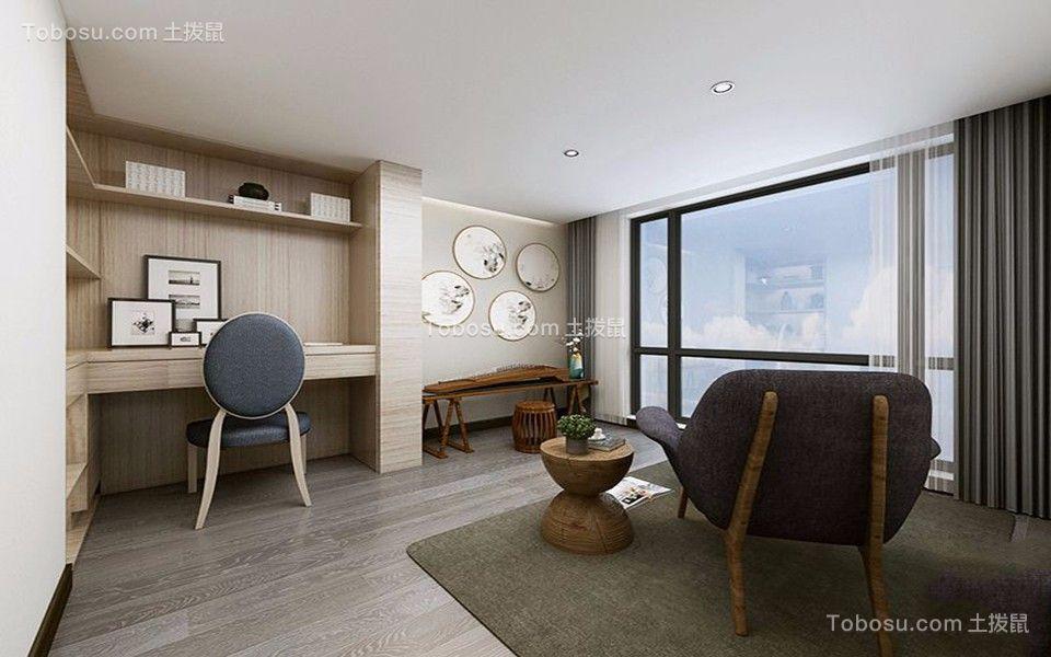 2020现代简约书房装修设计 2020现代简约地板装修图