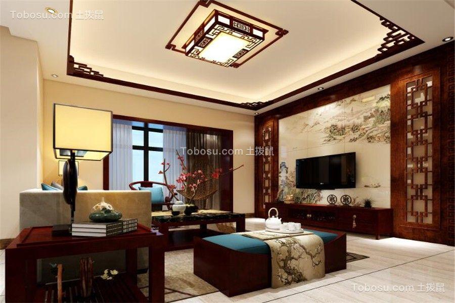 2020中式客厅装修设计 2020中式榻榻米装修图片