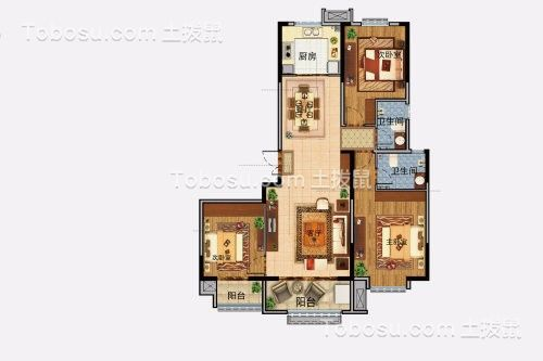 2021新中式客厅装修设计 2021新中式阁楼装修图