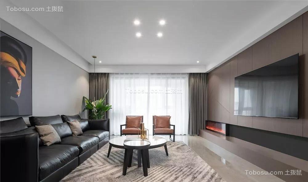 197平米现代主义风格装修,高级黑白灰诠释大宅风范!  现代主义