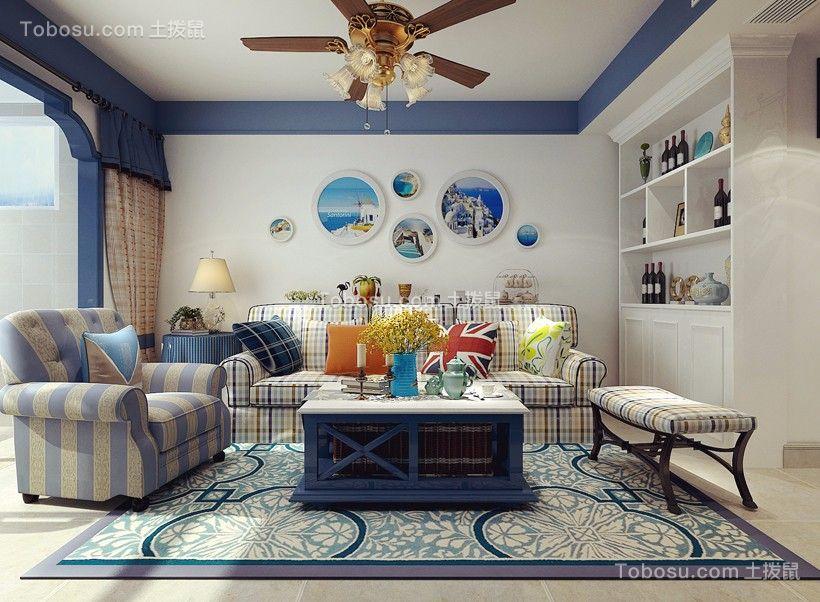 2020地中海客厅装修设计 2020地中海沙发装修设计