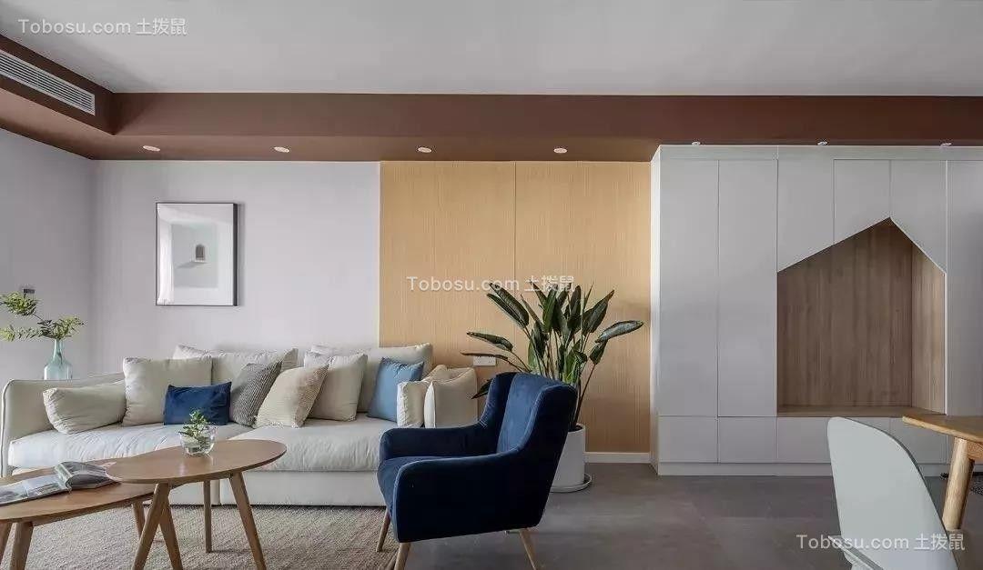 95㎡日式风格装修,温暖而惬意的舒适生活!  日式风格装修