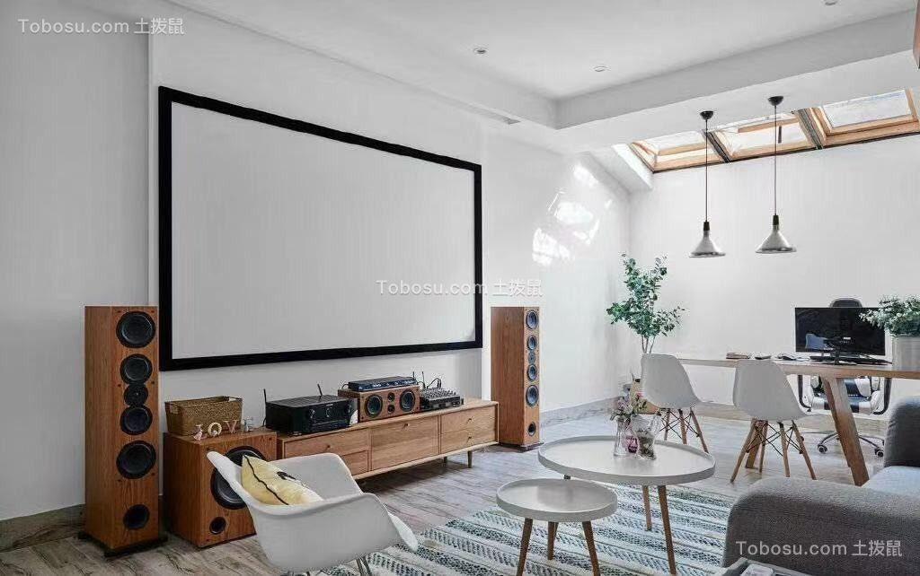 2020混搭客厅装修设计 2020混搭电视背景墙装修设计图片