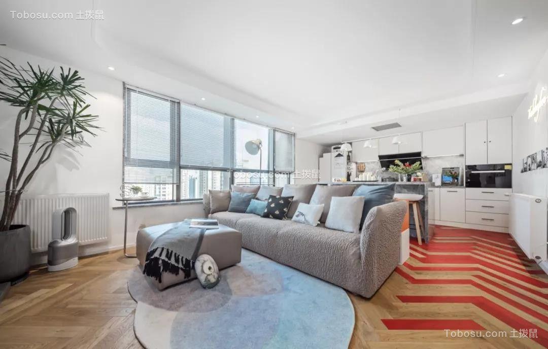 """92平米Loft公寓装修,后现代""""悬浮""""楼梯能做玄关能储物,大写的服气!"""