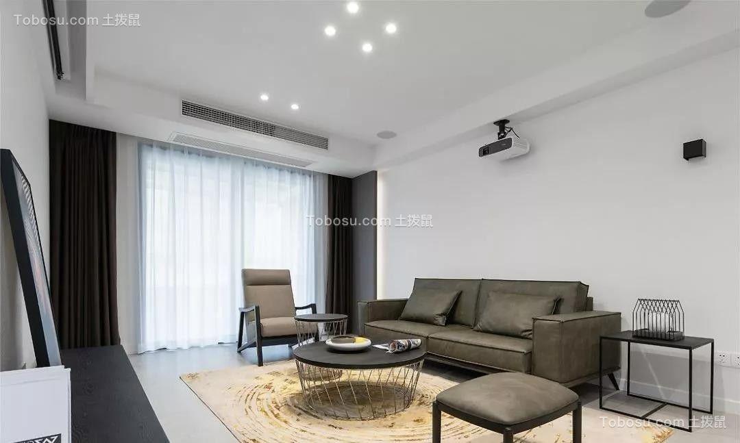 140平米现代主义风格装修,回归简约纯粹的质感生活!