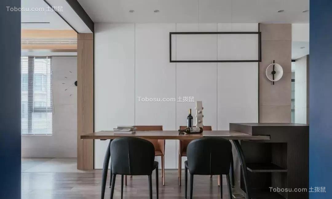 164㎡极简风格装修,以高级蓝为格调色,打造空间极致美!| 极简风格装修