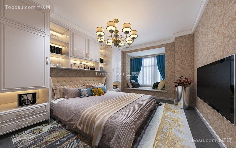 2021简欧卧室装修设计图片 2021简欧窗台装修设计图片