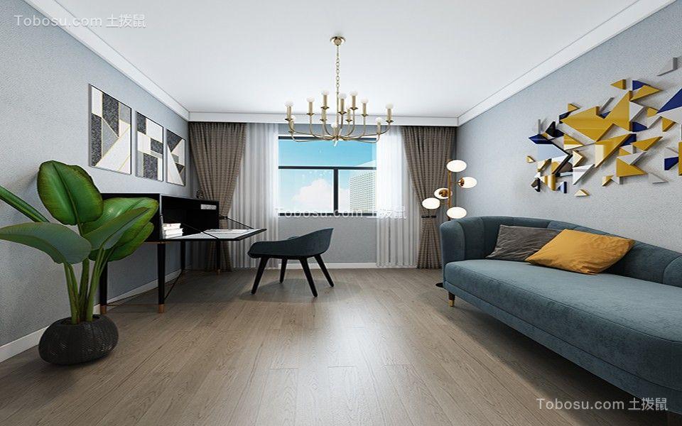 2020现代简约书房装修设计 2020现代简约照片墙装饰设计