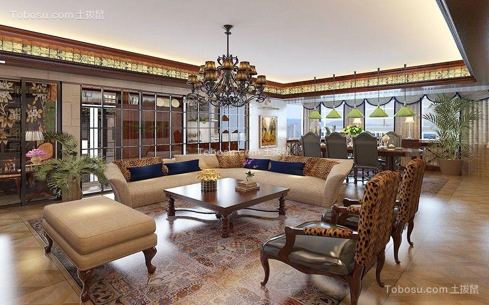 2020美式客厅装修设计 2020美式沙发装修设计