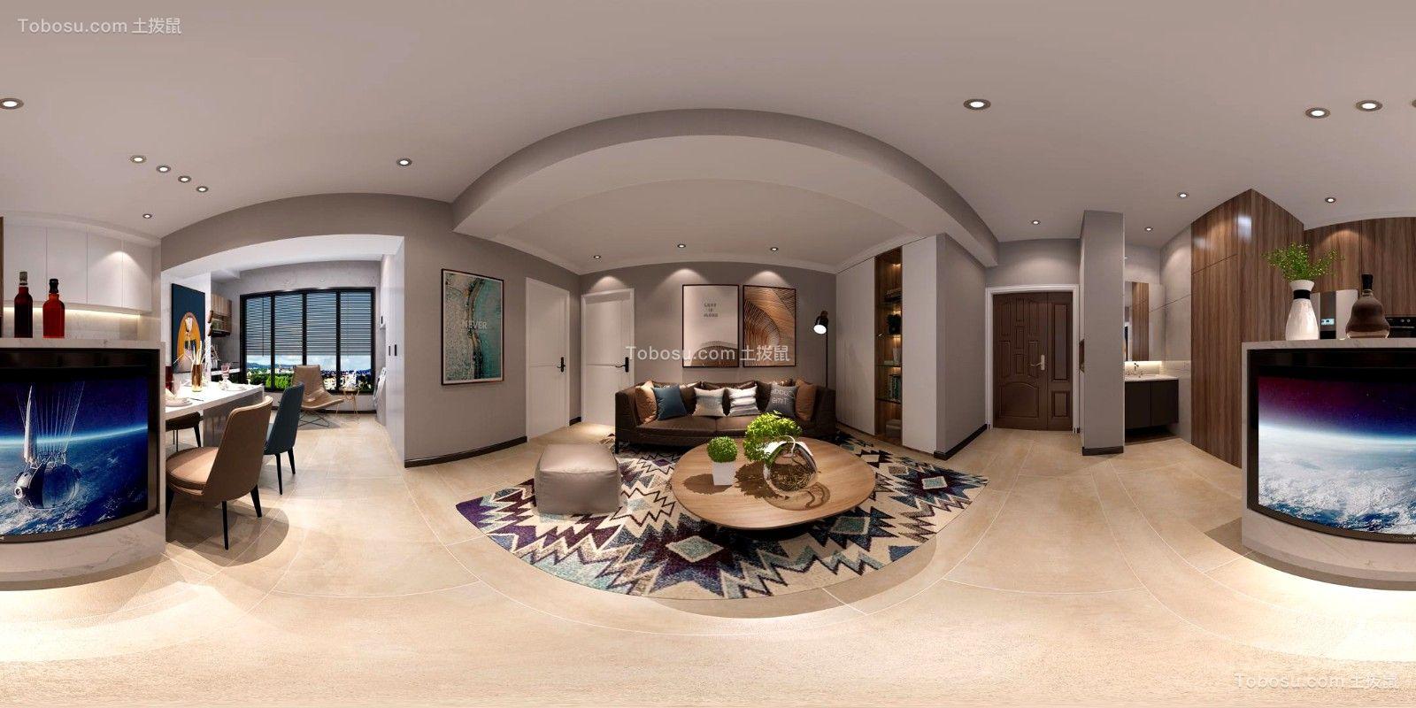 2020简约客厅装修设计 2020简约走廊装修效果图大全
