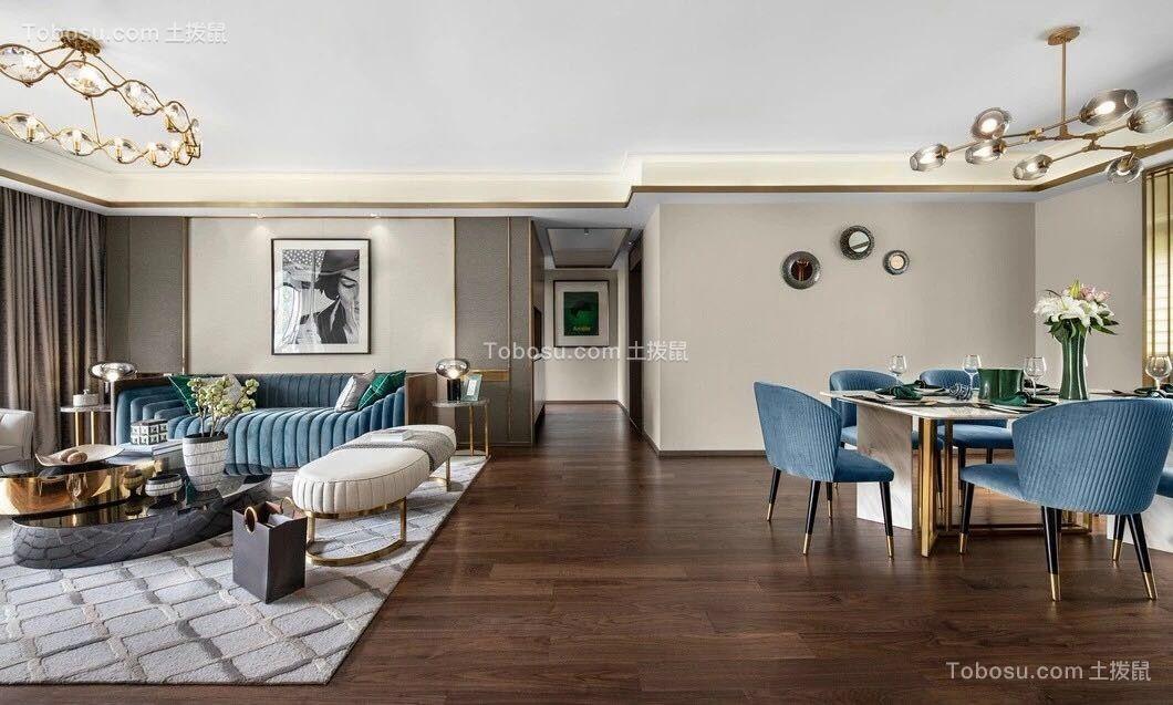 2020现代简约客厅装修设计 2020现代简约吊顶设计图片