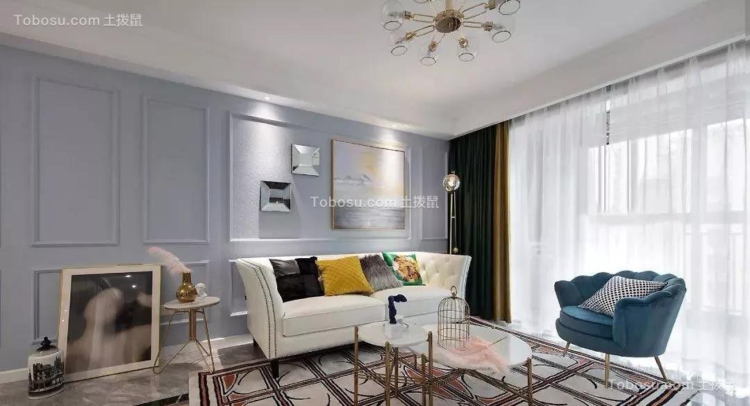 130平米轻奢美式风格装修,打造时尚精致的美学家居!| 美式风格