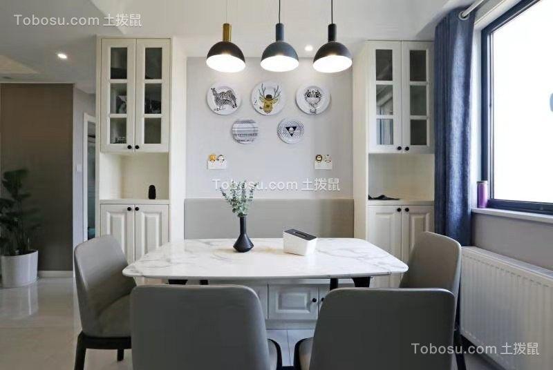 2020现代餐厅效果图 2020现代餐桌装修图片
