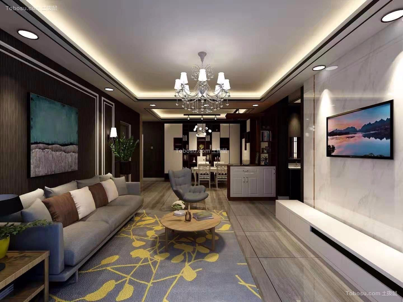 2020混搭客厅装修设计 2020混搭过道图片