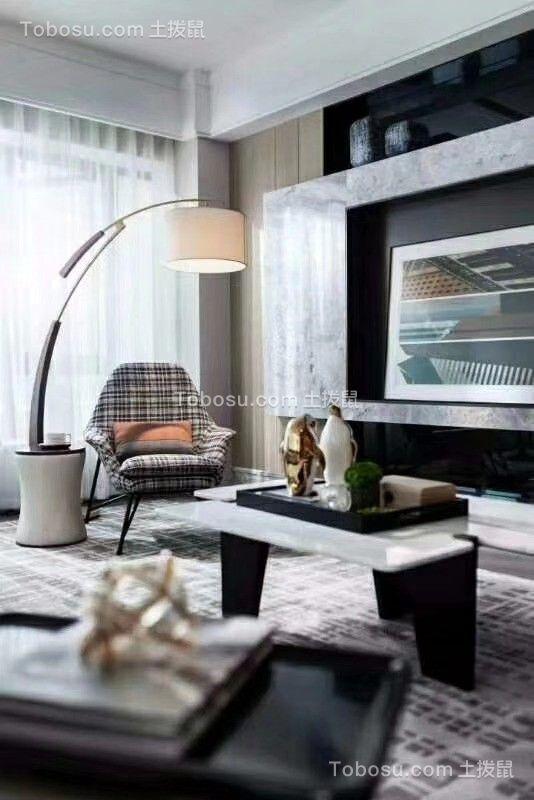 2020现代简约书房装修设计 2020现代简约书桌图片