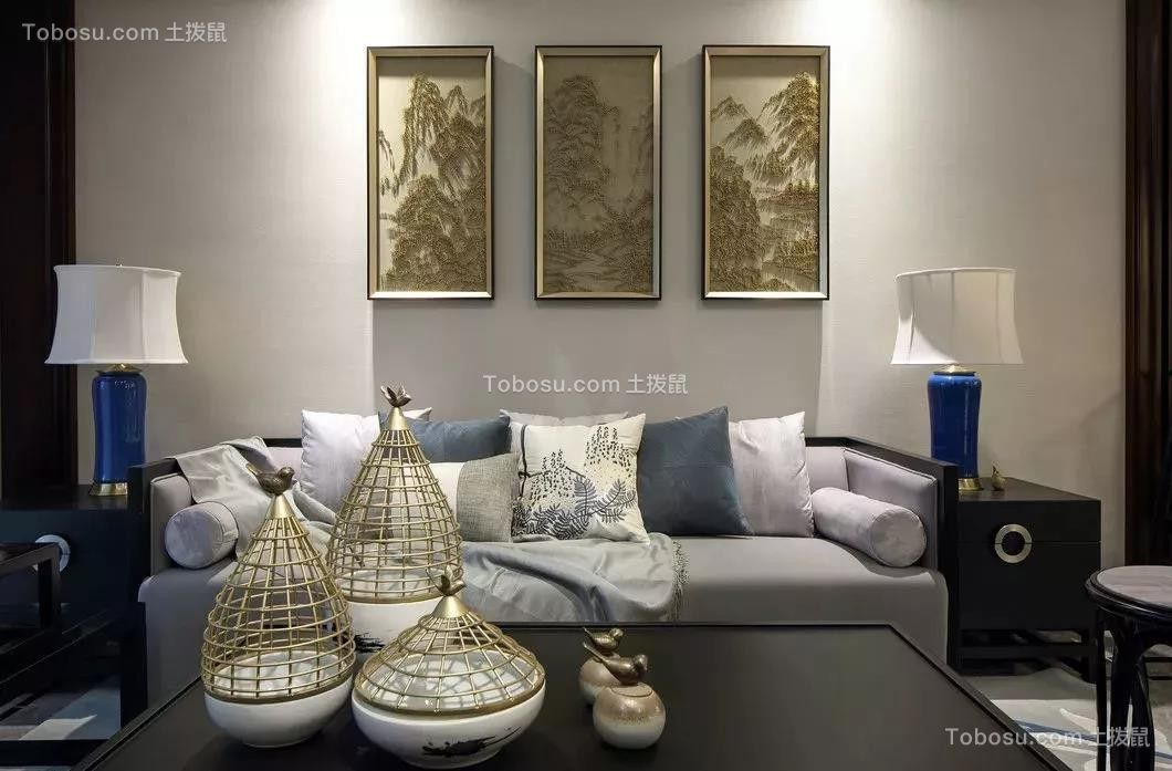 2020新中式客厅装修设计 2020新中式沙发装修设计