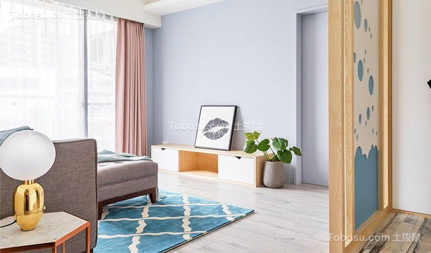 2020北欧客厅装修设计 2020北欧隔断图片