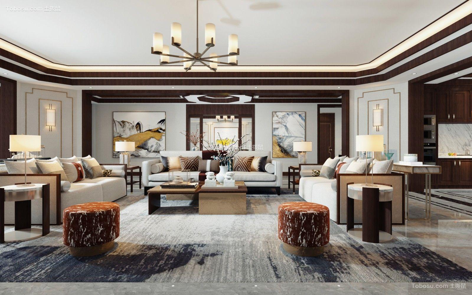2020新中式客厅装修设计 2020新中式细节装饰设计