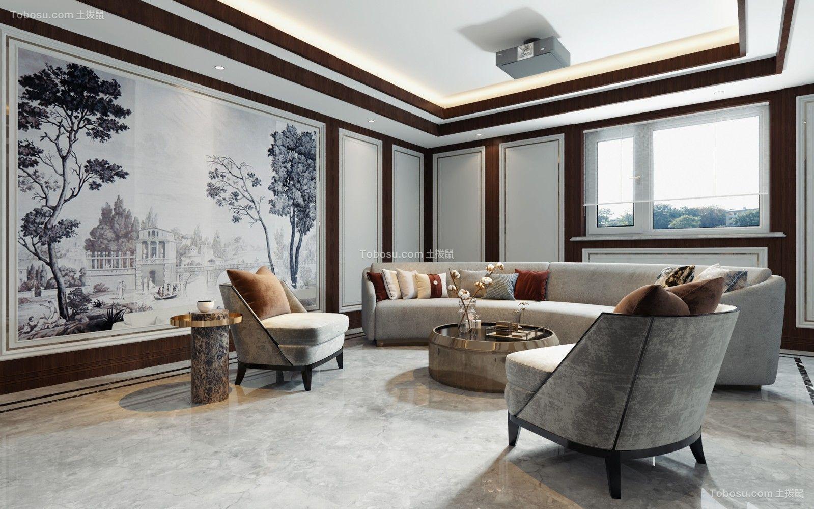 2021新中式起居室装修设计 2021新中式细节装修效果图大全