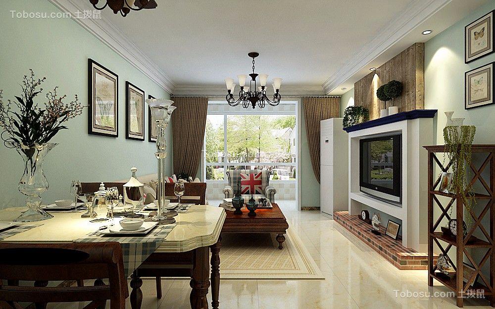2021美式客厅装修设计 2021美式细节装饰设计