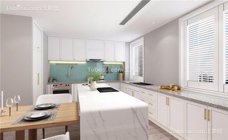2021美式厨房装修图 2021美式细节装修图片
