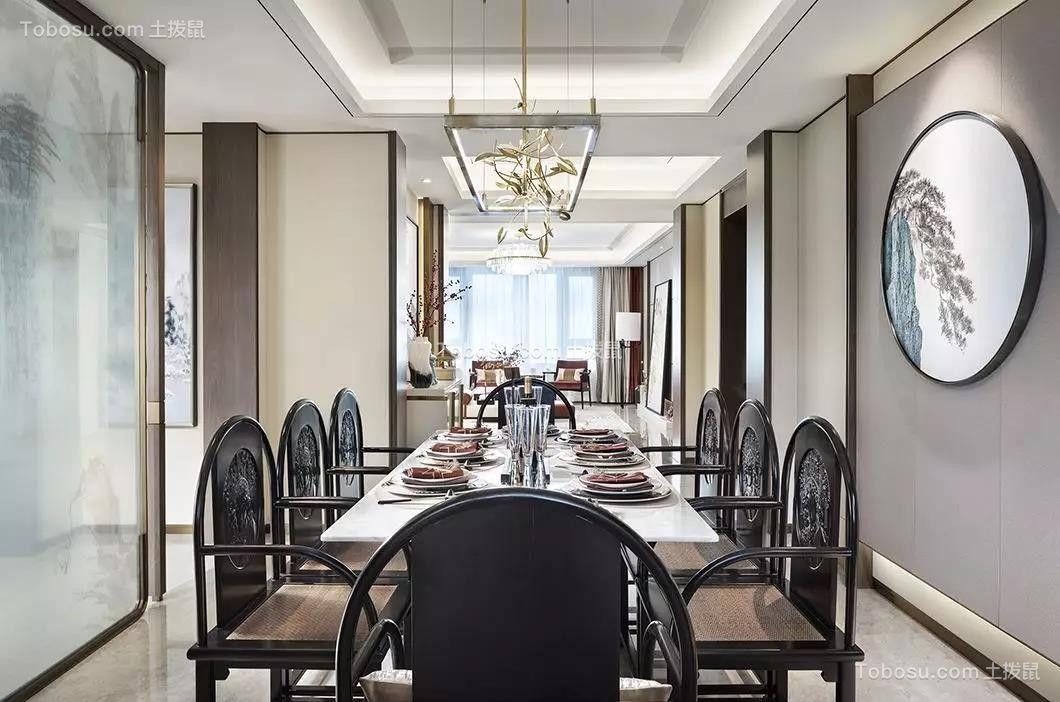 2020中式餐厅效果图 2020中式餐桌装修图片