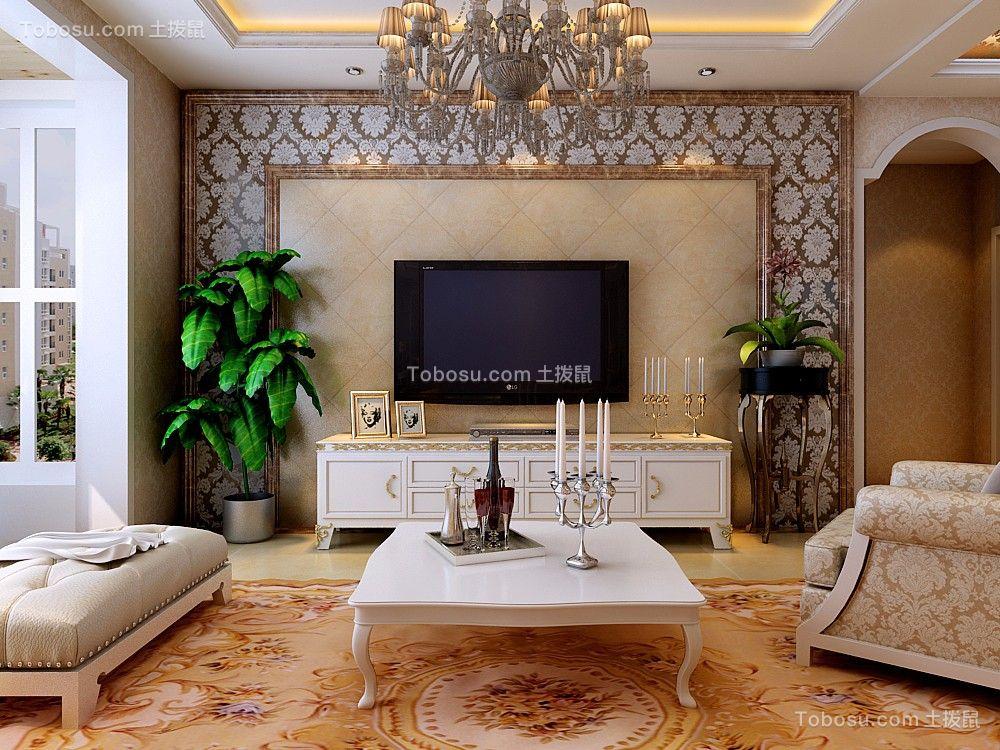 2021简欧客厅装修设计 2021简欧背景墙图片