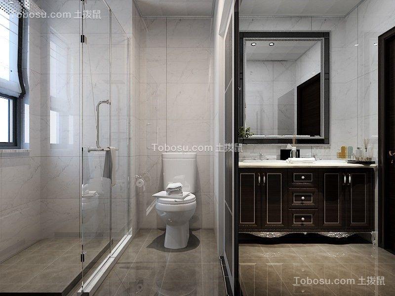 2020现代简约卫生间装修图片 2020现代简约洗漱台装饰设计