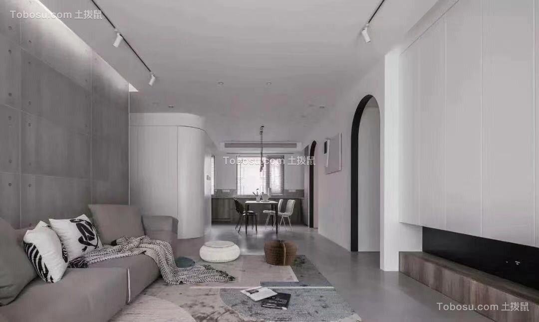 2020简约客厅装修设计 2020简约背景墙图片