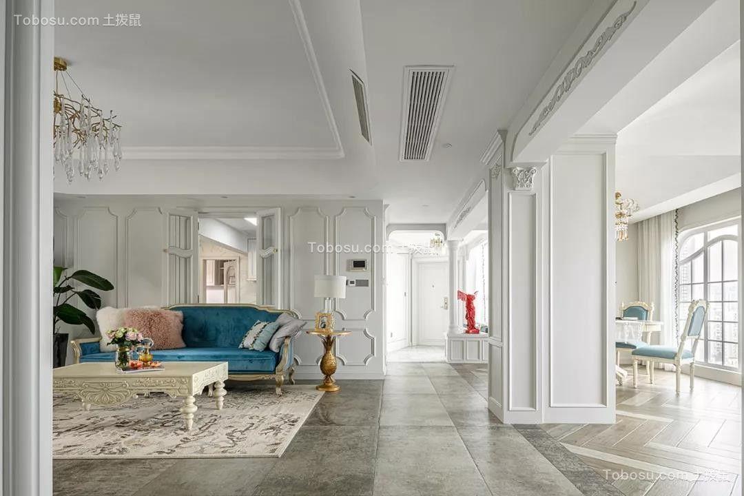 2021新古典客厅装修设计 2021新古典隔断图片
