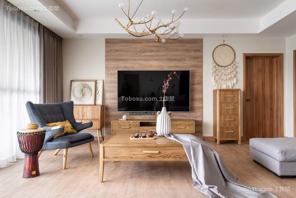 2020日式客厅装修设计 2020日式背景墙图片
