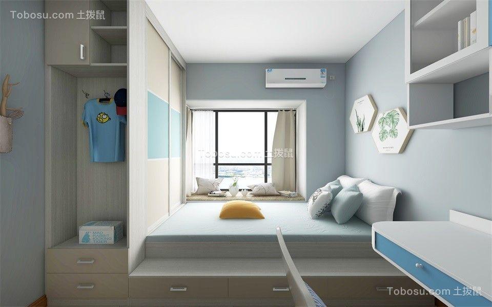 2020现代儿童房装饰设计 2020现代榻榻米效果图