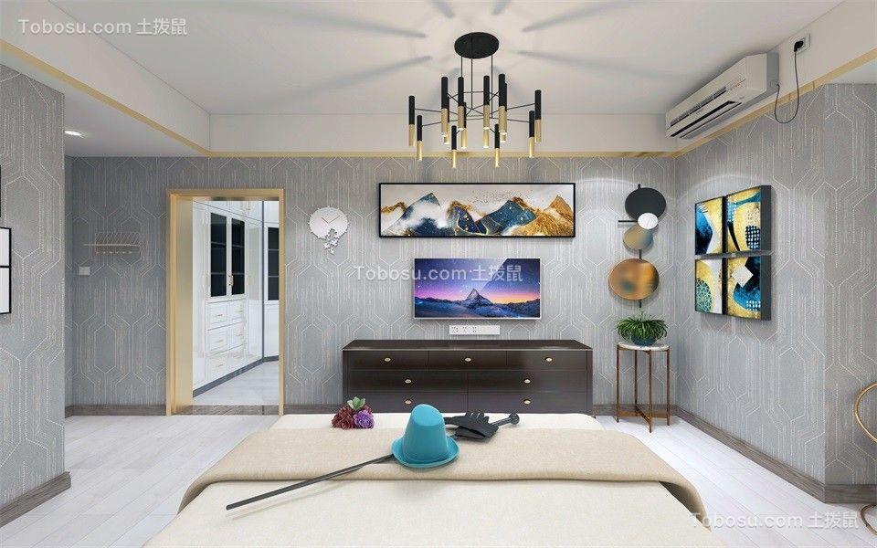 2020现代简约卧室装修设计图片 2020现代简约照片墙装修图