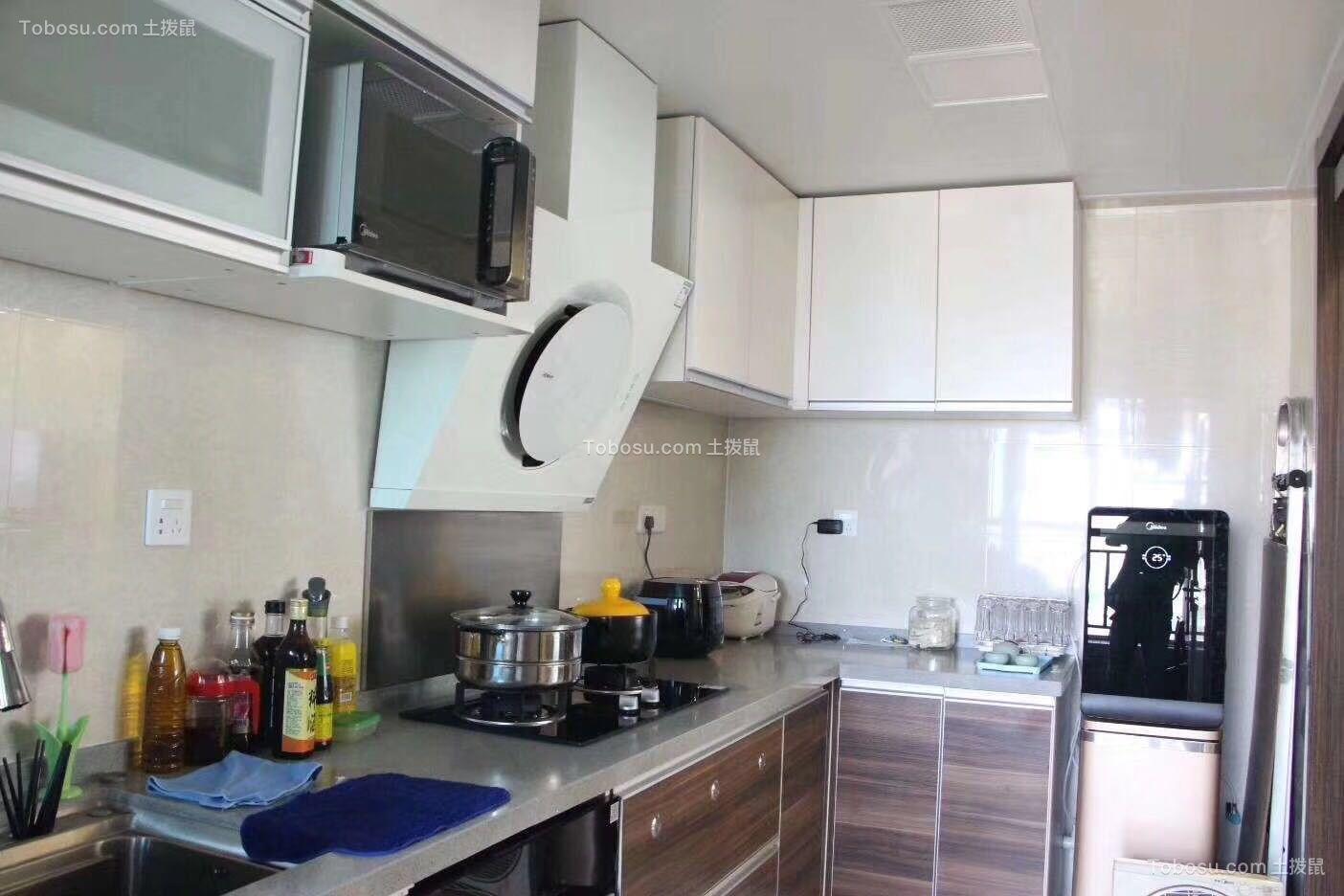 2020混搭厨房装修图 2020混搭橱柜装修设计