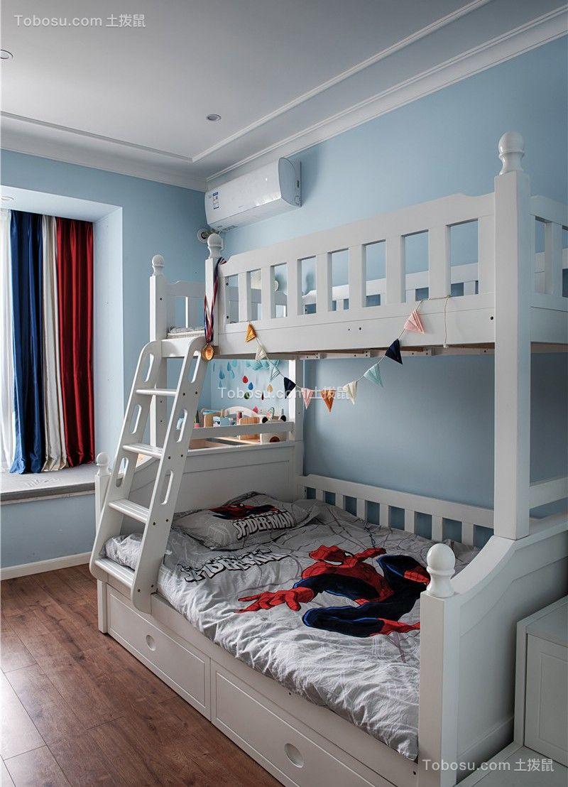 2020美式儿童房装饰设计 2020美式飘窗装修效果图大全