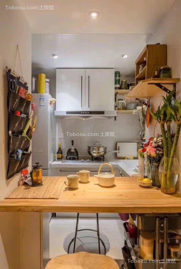 2020混搭厨房装修图 2020混搭吧台装修设计图片