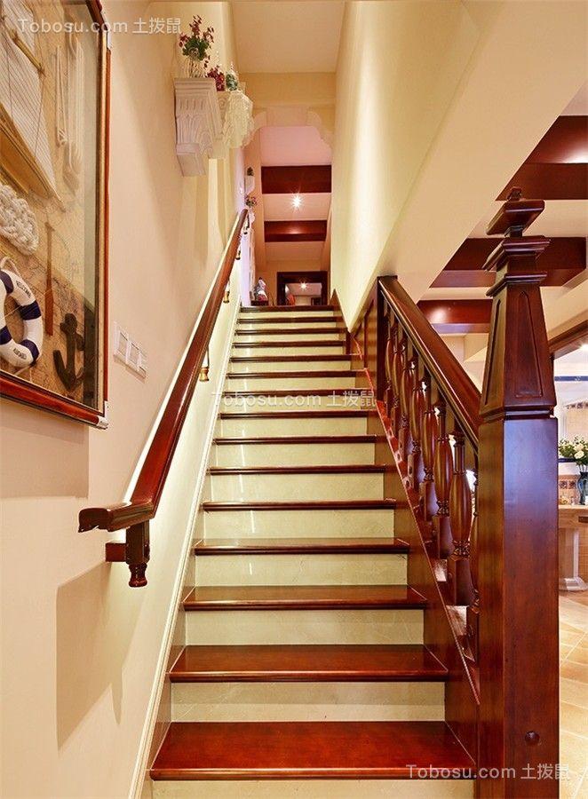 2020田园玄关图片 2020田园楼梯装修图