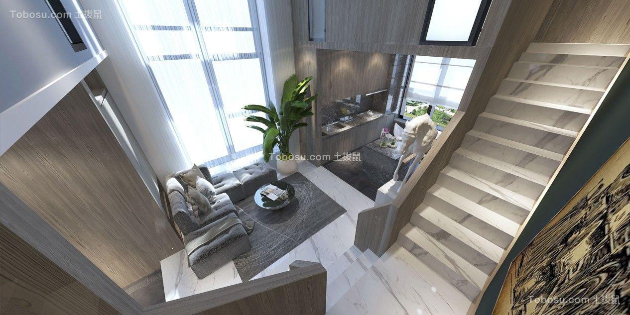 2020后现代客厅装修设计 2020后现代楼梯装修效果图片