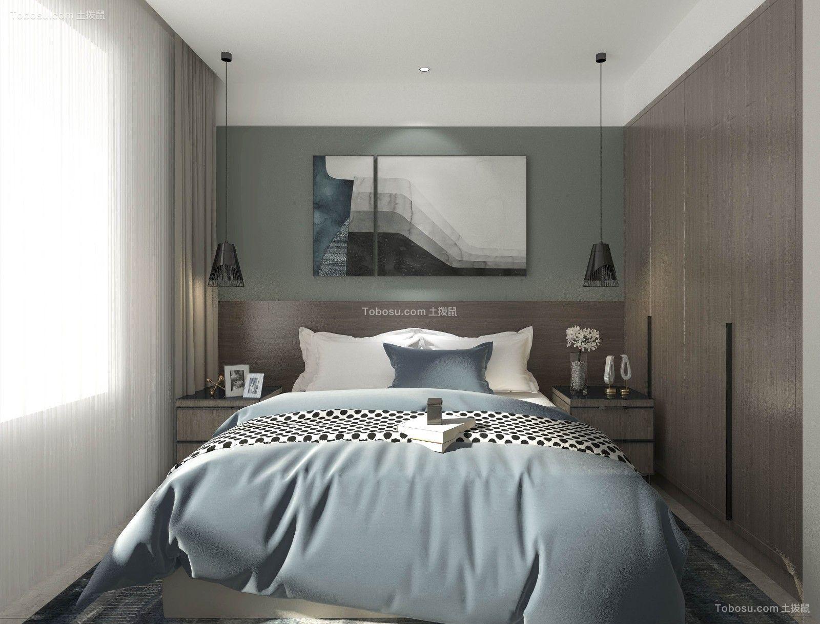 2020简约卧室装修设计图片 2020简约背景墙装修设计
