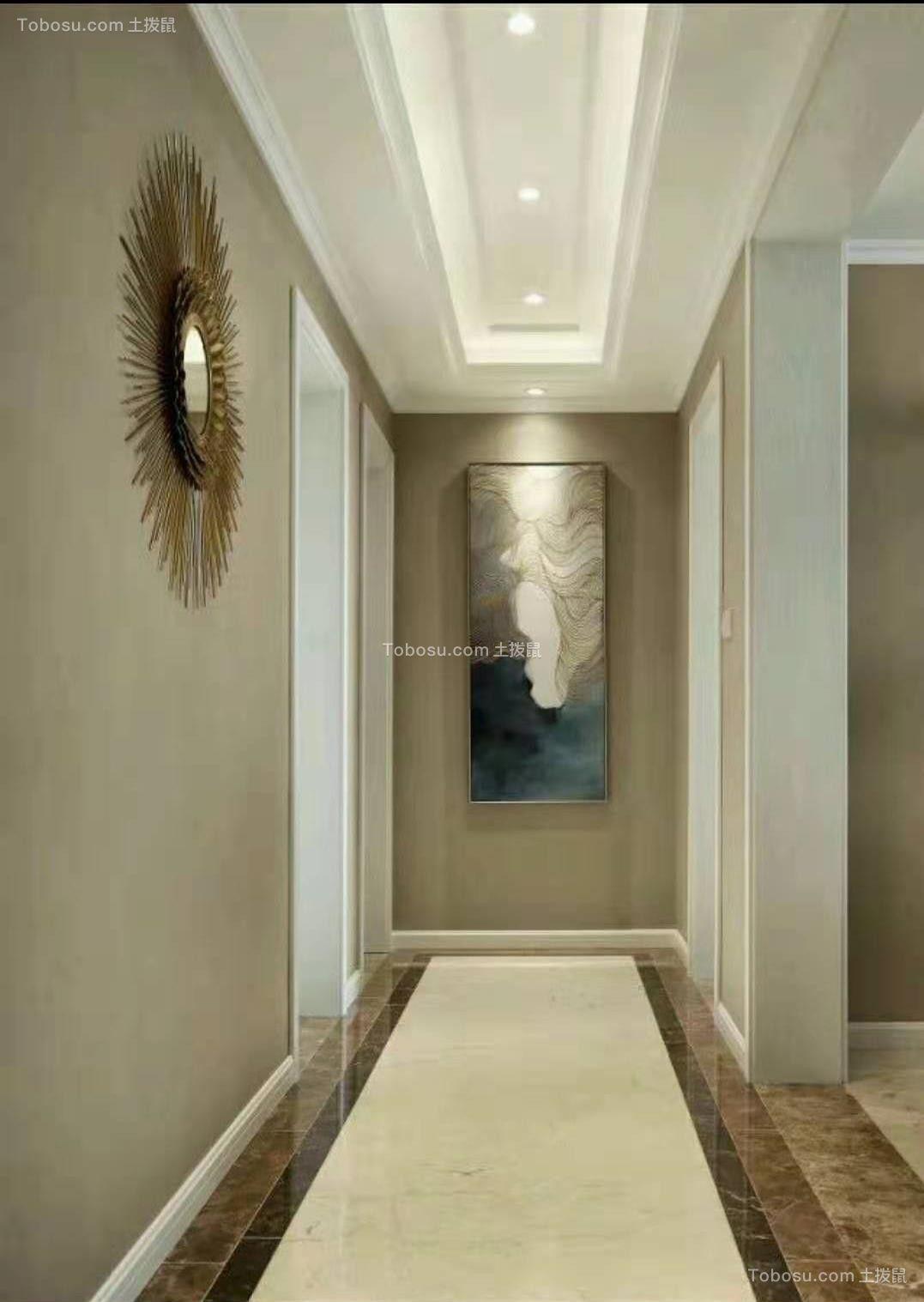 2020美式玄关图片 2020美式走廊装修效果图片