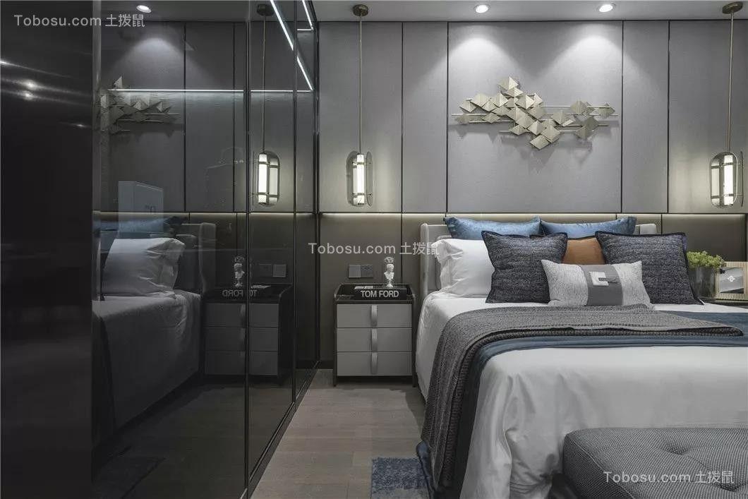 2020简约卧室装修设计图片 2020简约衣柜装修效果图片