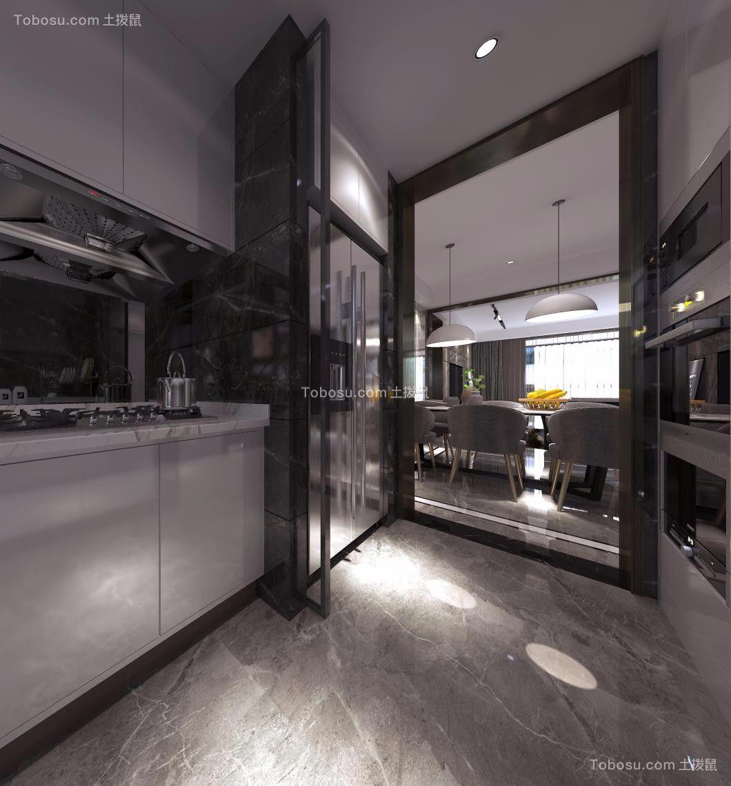 2020简约厨房装修图 2020简约橱柜装修设计