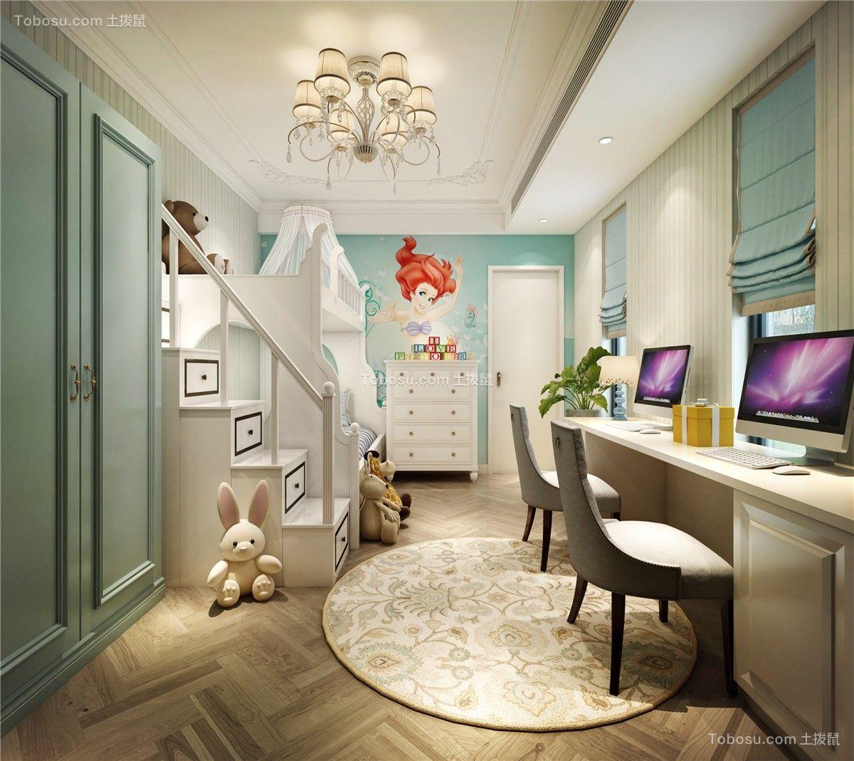 2020现代儿童房装饰设计 2020现代地板装修设计