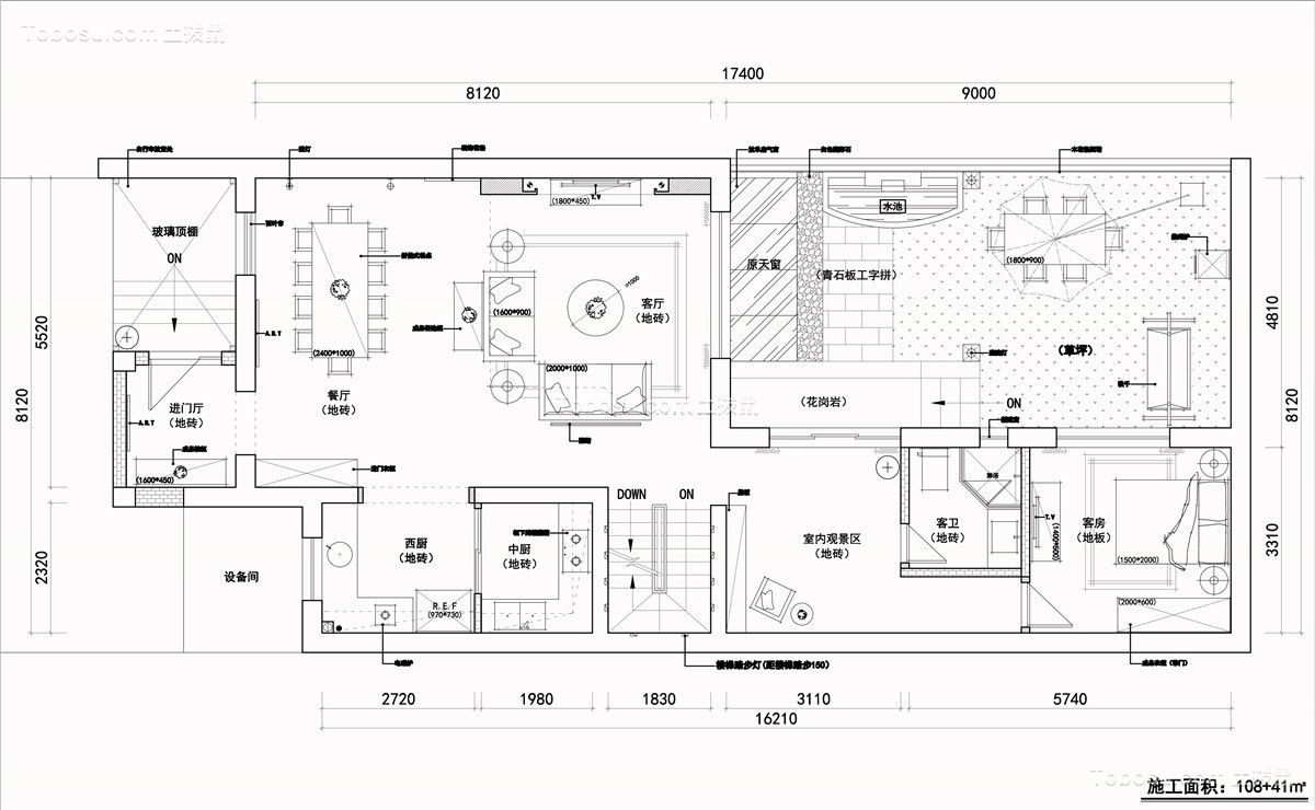 云巢定制设计--三层含地下室现代轻奢别墅设计