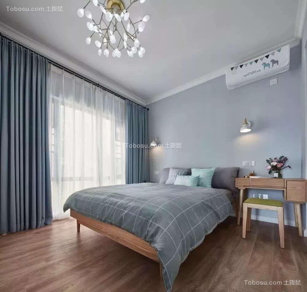 2020北欧卧室装修设计图片 2020北欧落地窗图片