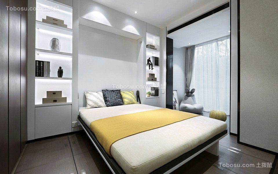 2020中式卧室装修设计图片 2020中式床图片