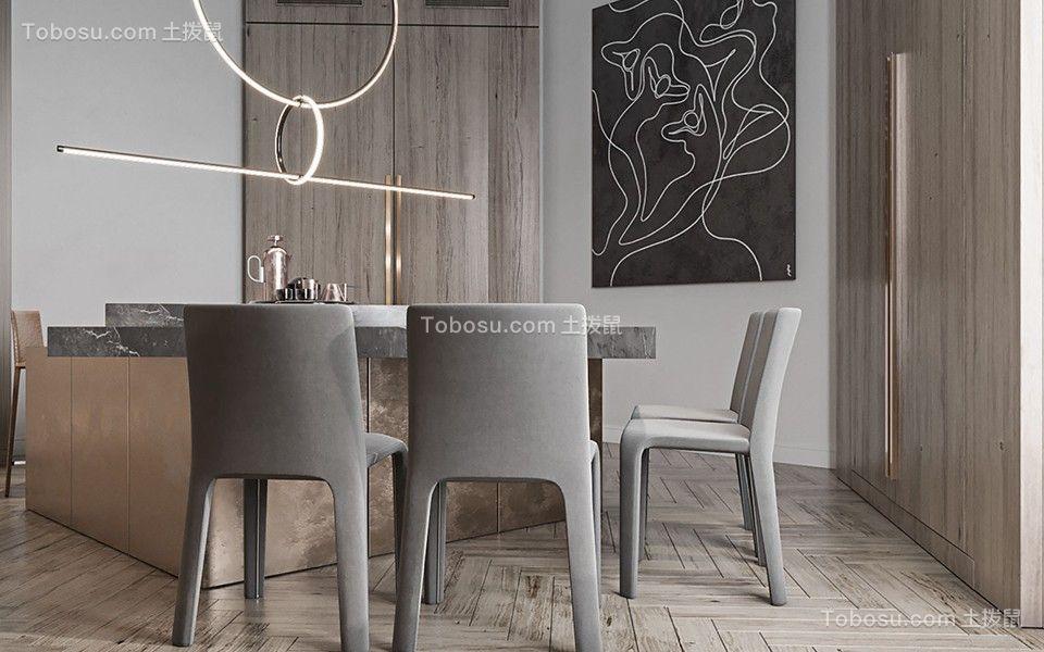 2020欧式餐厅效果图 2020欧式餐桌装修图片